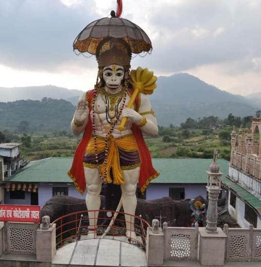 Nainital District Famous Temple Hanumangarhi