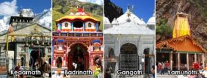 उत्तराखंड के चार धाम या हिमालय के चार धाम (छोटा चार धाम)