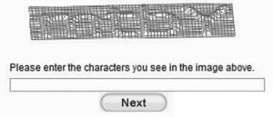 3D CAPTCHA Code