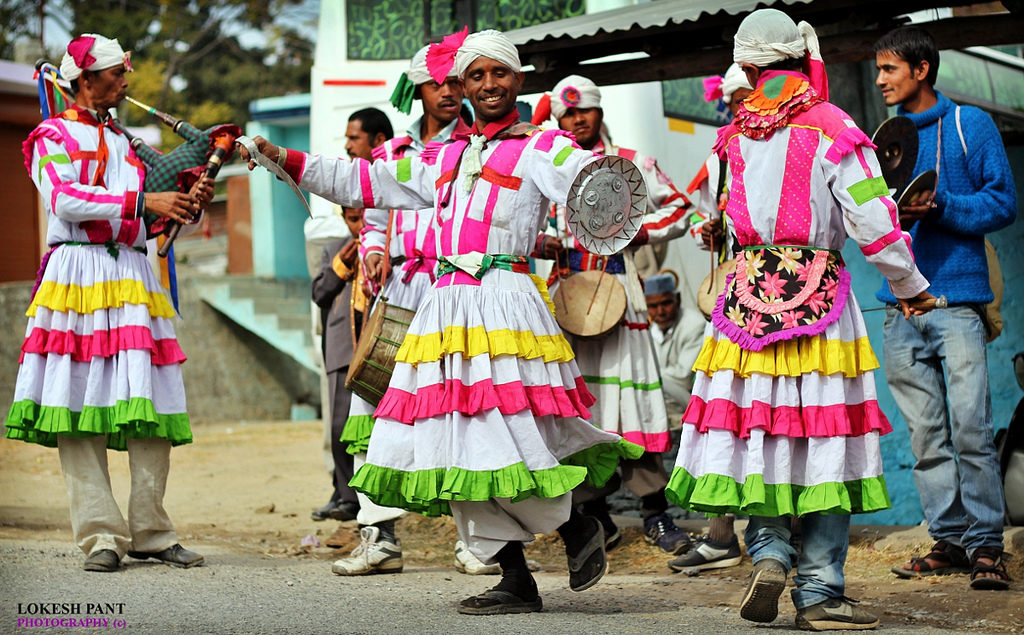 Choliya Folk Dance Art in Uttarakhand