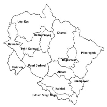 Geography of Uttarakhand