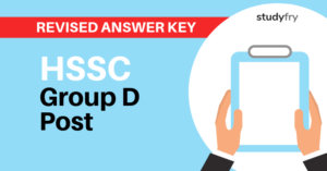 HSSC Group D Revised Answer Key 2018