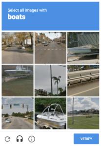 Image Recognition based CAPTCHA Code