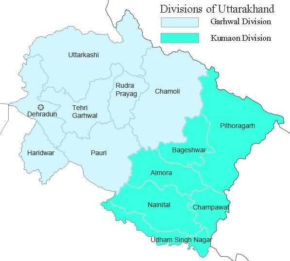 Languages and Dialects spoken in Uttarakhand