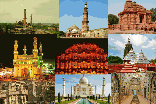 List of Important Historical Indian monuments and their builders