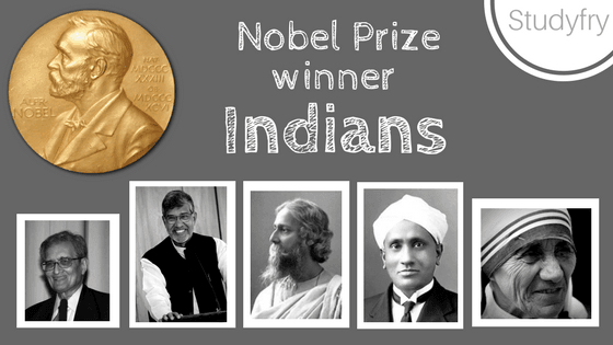 List of Nobel Prize winner Indians in Hindi