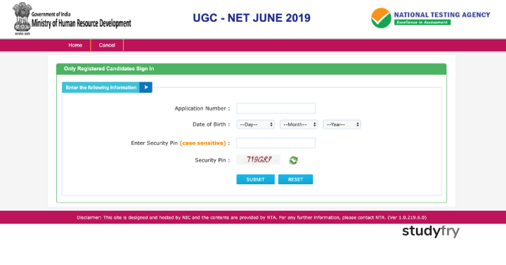 NTA UGC-NET June 2019 Answer Key- Direct Link