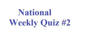 साप्ताहिक प्रश्नोत्तरी - राष्ट्रीय करंट अफेयर्स 24 - 31 दिसम्बर 2016