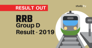 RRB Group D Result - 2019
