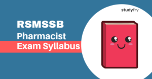 RSMSSB Pharmacist Exam Syllabus 2018-19