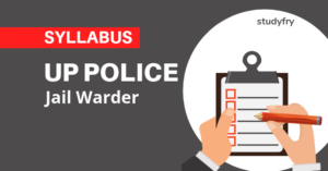 UP Police Jail Warder Syllabus 2019