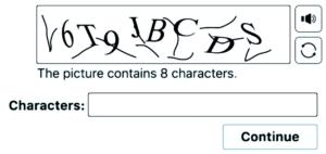 User interaction based CAPTCHA Code