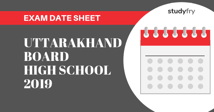 Uttarakhand Board Examination Scheme High school 2019