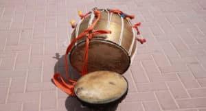 dhol damau uttarakhand musical instrument
